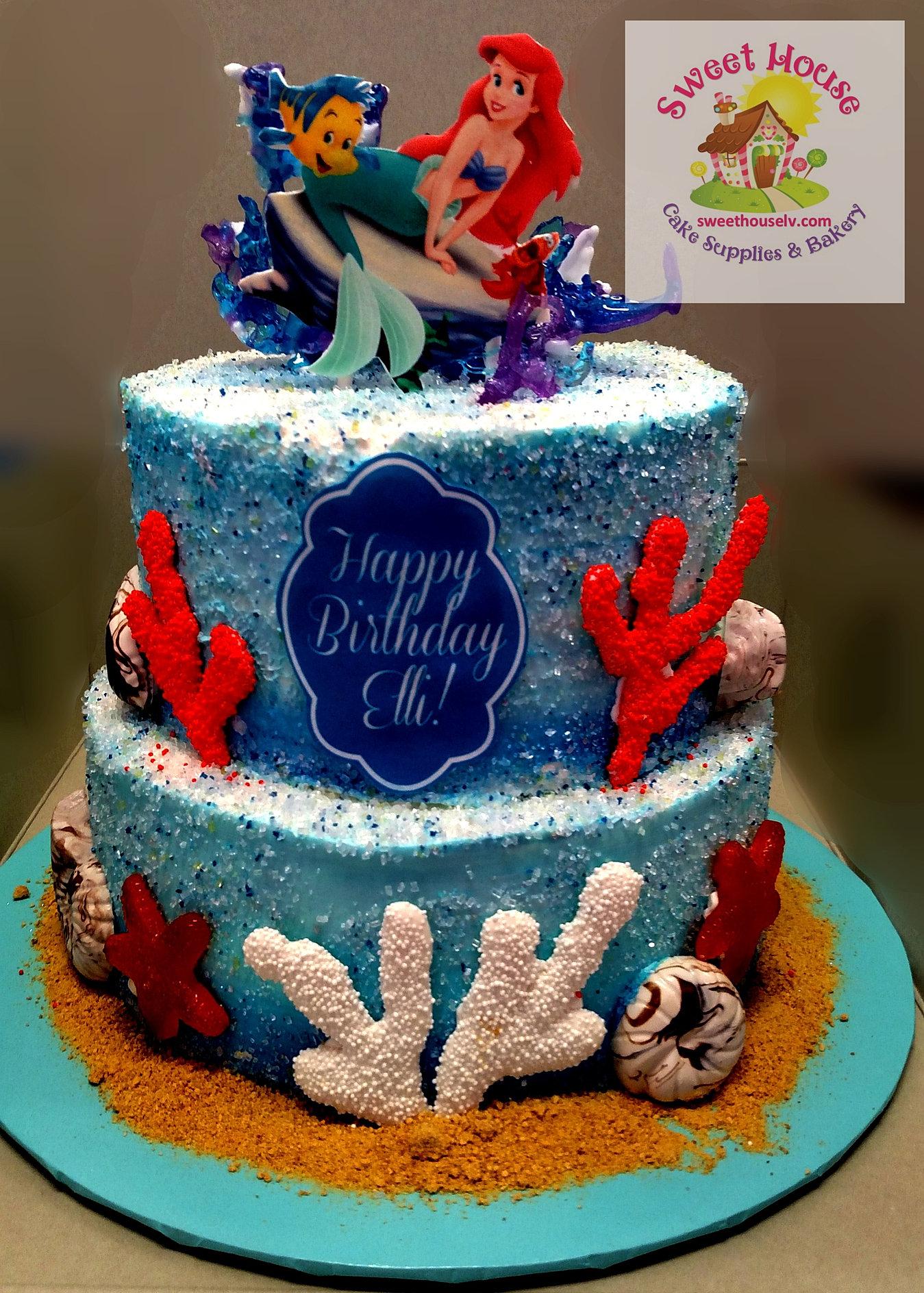 Mermaid Sheet Cake Erkalnathandedecker