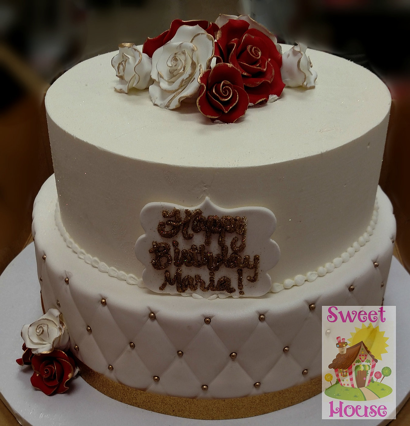 Elegant Cake Designs Birthday Cakes : Sweet House Cake Supply & Bakery Birthday Cakes
