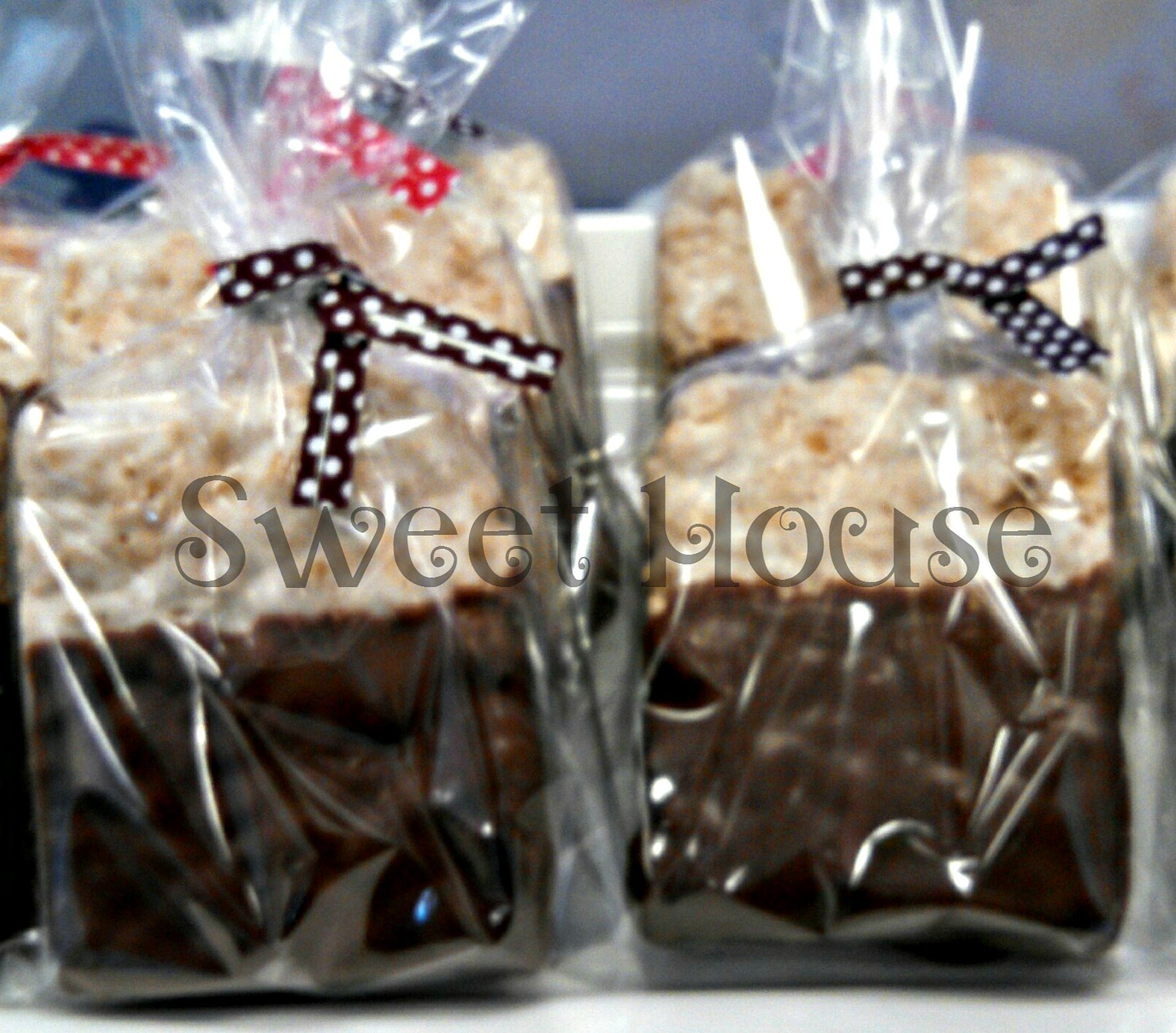 Home handmade candies chocolate dipped rice krispy treats 2 - Dipped Rice Krispies