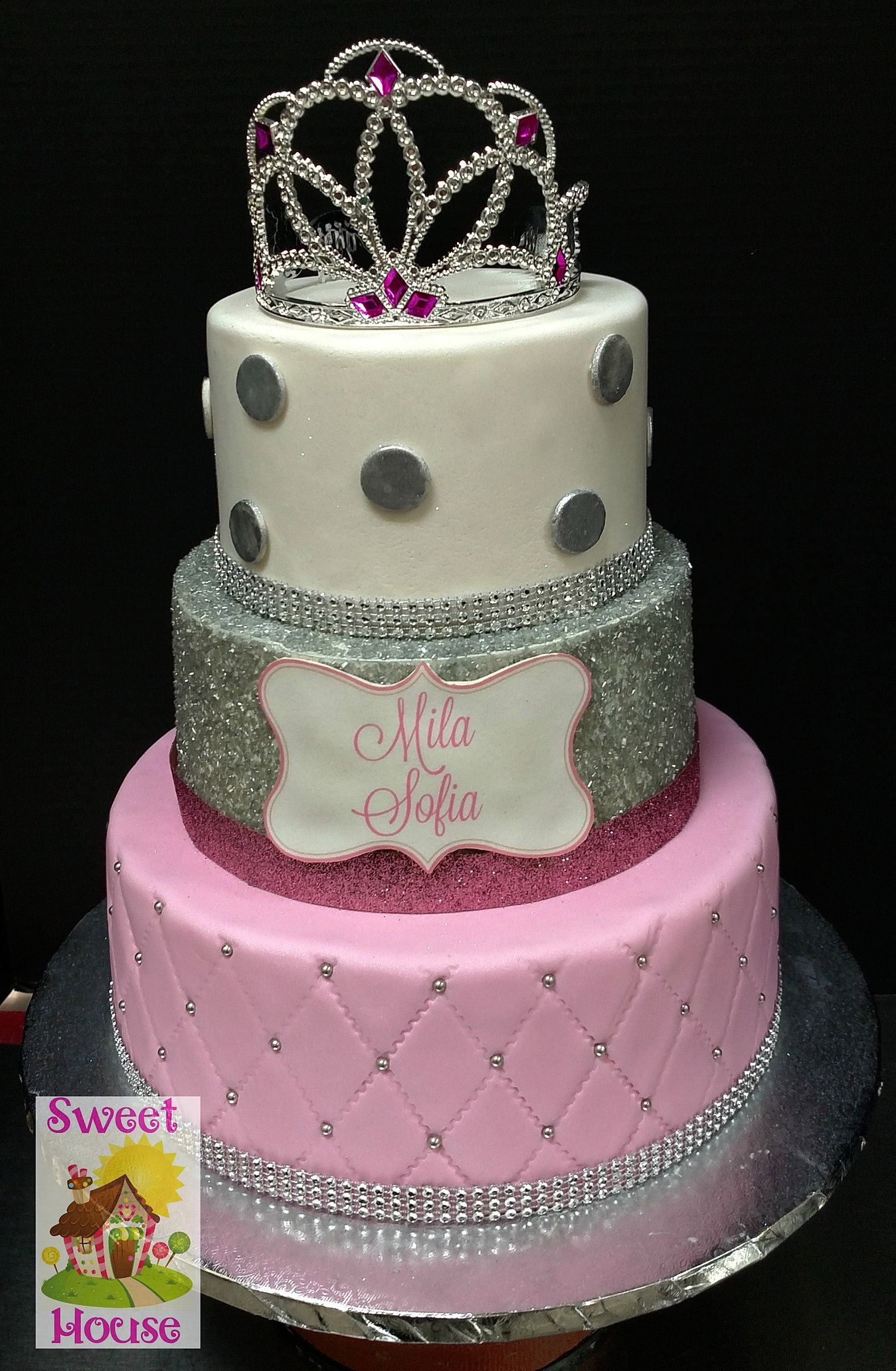 Princess Cake Ideas For Baby Shower : Sweet House Cake Supply & Bakery Baby Shower Cakes