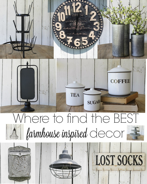 Where to Find the BEST Farmhouse Style Decor for Cheap