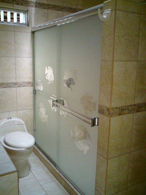 Puertas De Baño Aluminio:Puerta Océano para Baño