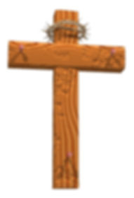 cross with nails