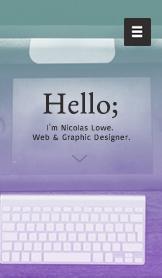 Portafolio de diseño web