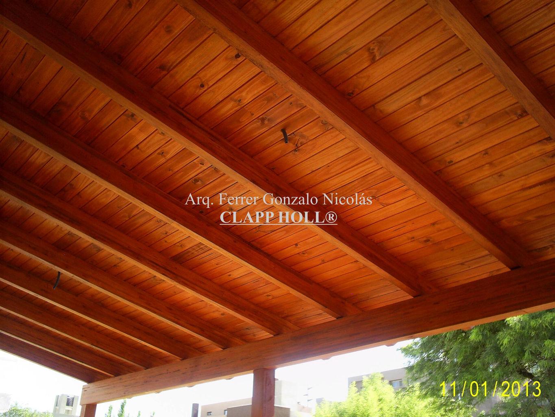 Techos de madera en c rdoba clapp holl techos de madera - Estructuras de madera para techos ...