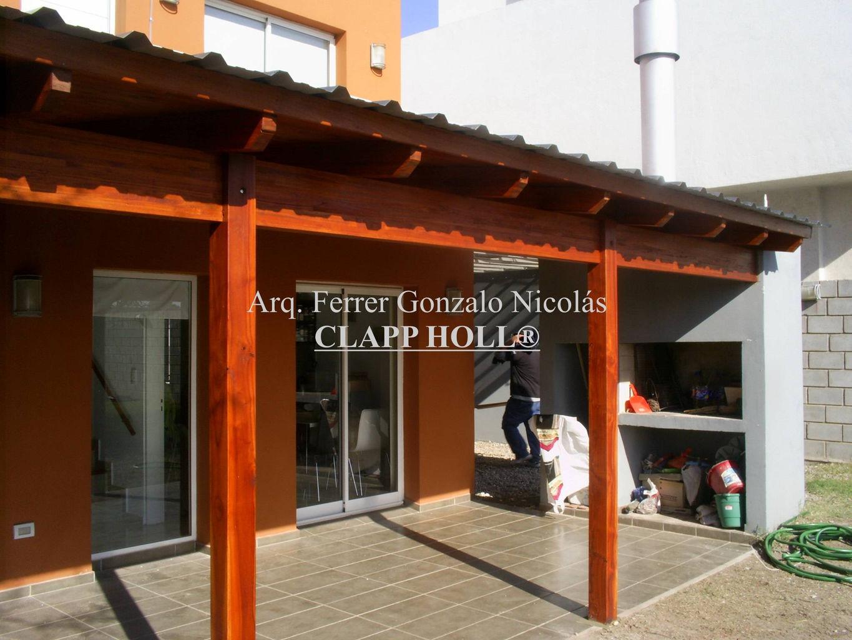 Techos de madera en c rdoba clapp holl techos de madera for Techos de galerias economicos