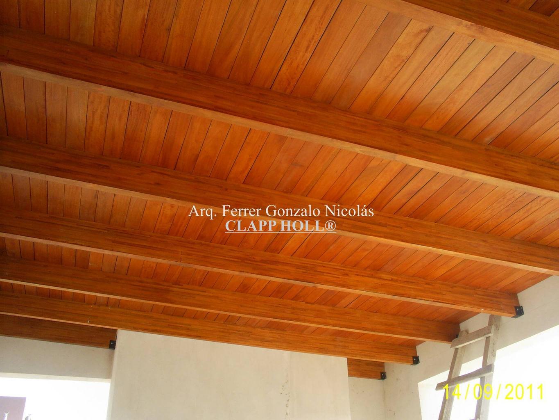 Techos de madera en c rdoba clapp holl techos de madera - Techos de madera precios ...