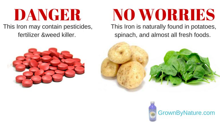 Warning 99 of iron supplements are not the iron found in food warning 99 of iron supplements are not the iron found in food workwithnaturefo