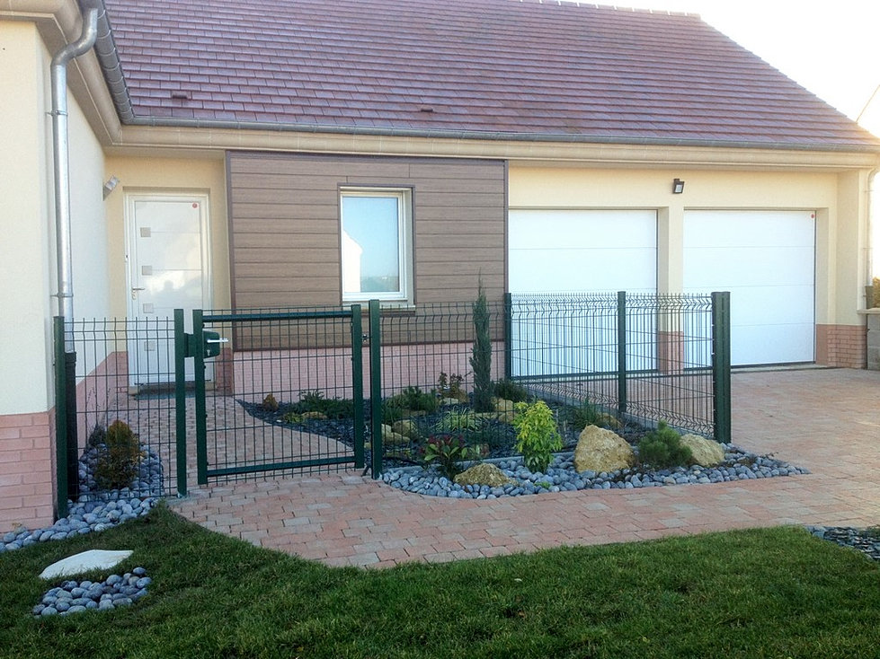 Cip cl ture portails choisy au bac for Petit portillon en bois