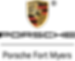 Porsche Fort Myers logo w Shield.png