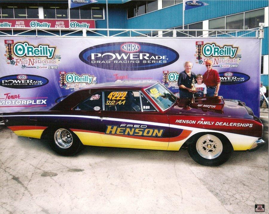 Fred Henson, SS/AH 1968 Dart, Built 2002