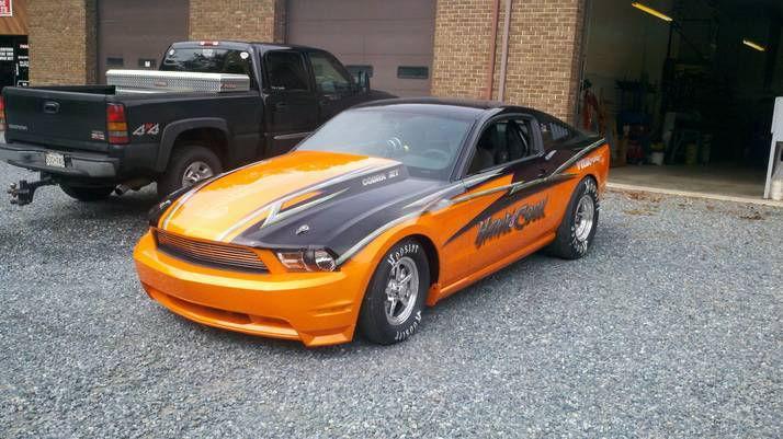 Hawk & Cook, A/SA 2010 Mustang, Built 2011
