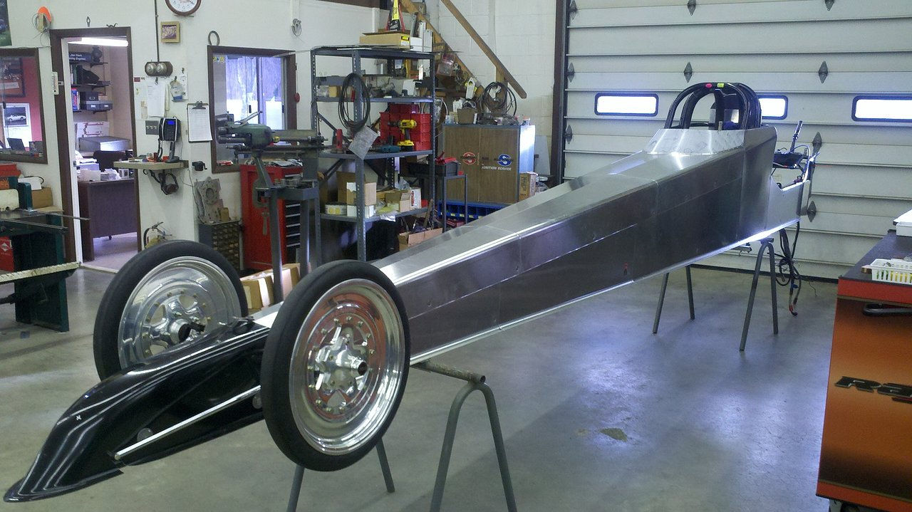 Rick's Jewelers, 1992 Dragster, Re-body done in 2011