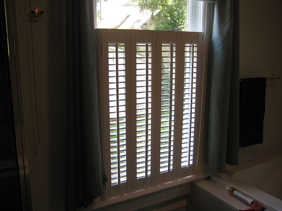Suber Custom Interior Shutters Window Treatments Tallahassee 1 3 4 Louver Interior