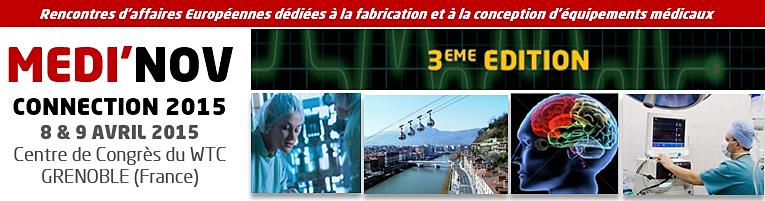 Bannière Medi'Nov Connection 2015