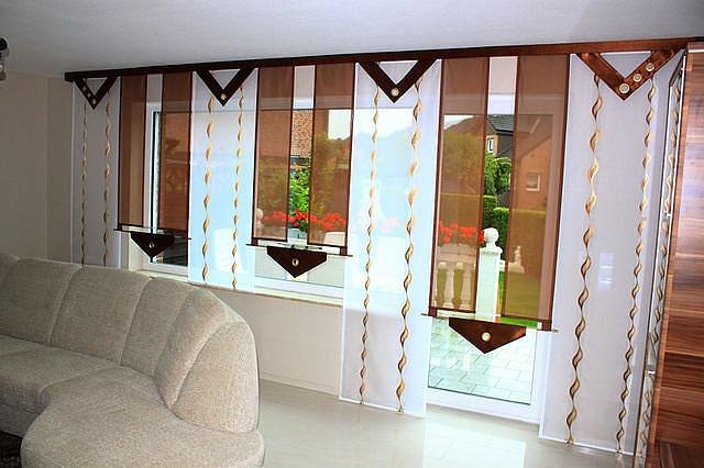 Японские шторы фото в интерьере кухни своими руками