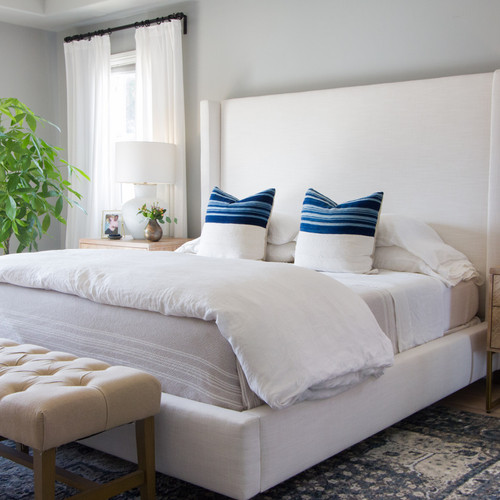 Upholstered Beds and Headboards in Los Angeles