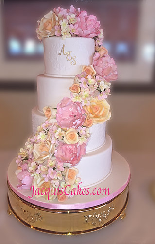seattle tacoma wedding cakes jacqui 39 s cakes. Black Bedroom Furniture Sets. Home Design Ideas