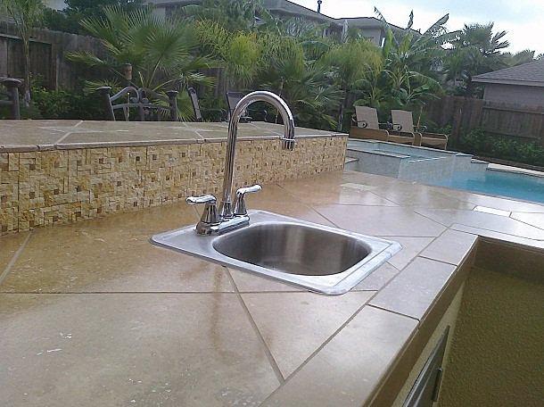 Outdoor Kitchen Tile : Outdoor Kitchens,Patio Covers -Katy Tx,Houston  Tile Backsplash ...
