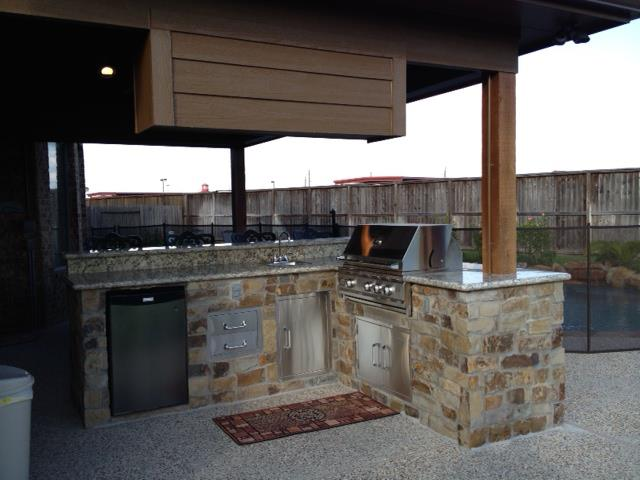 Outdoor KitchensPatio Covers Katy TxHouston