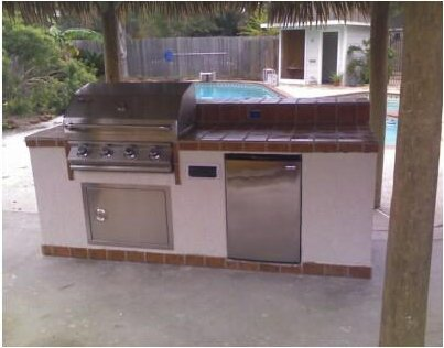 Outdoor Kitchens Patio Covers Katy Tx Houston Ceramic