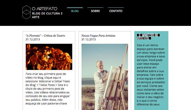 Blog de Arte e Cultura