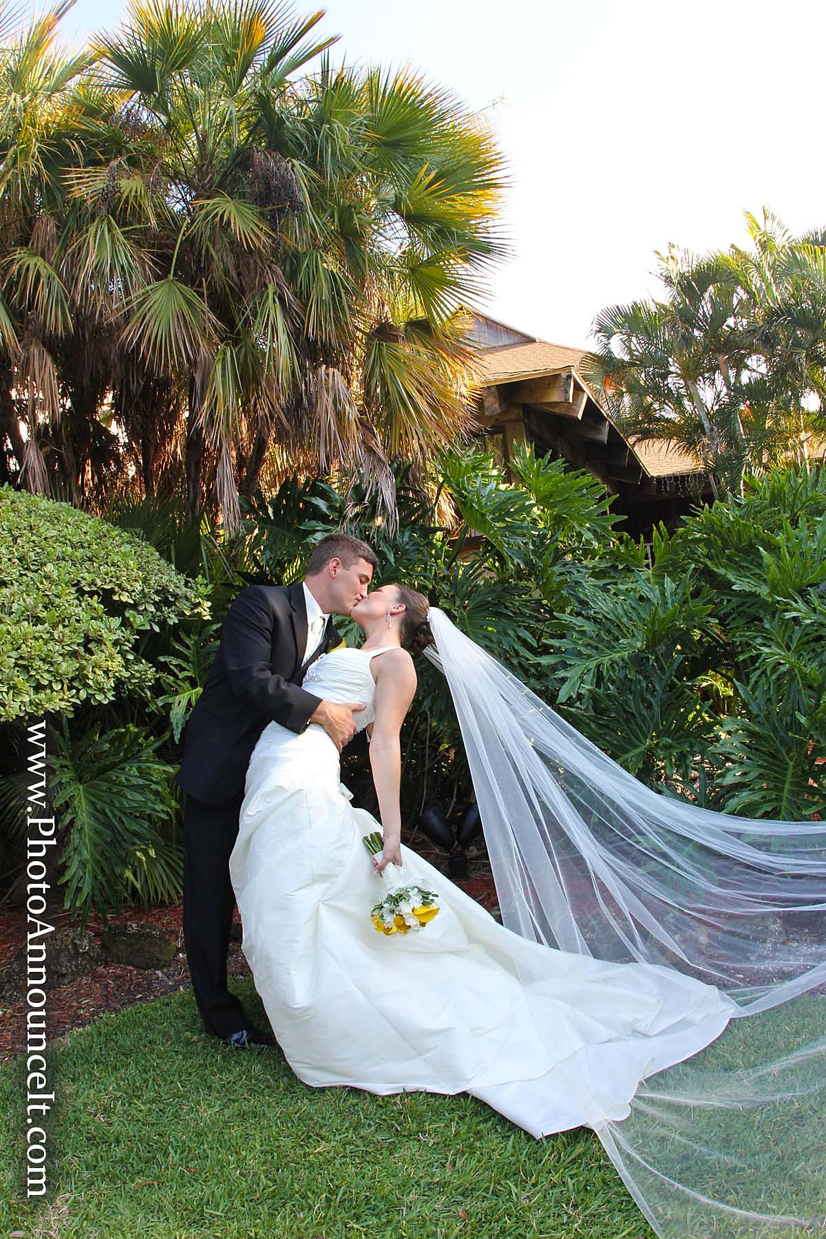 Tampa Wedding Photographer Photo Announce It Rusty Pelican Tampa Weddings
