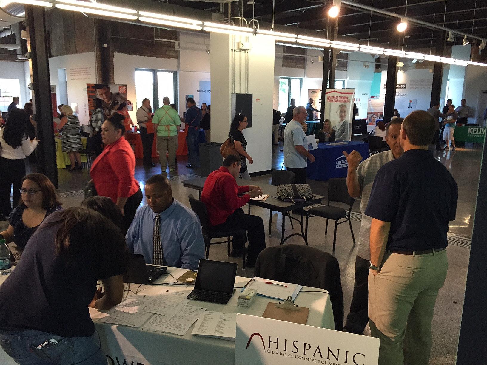 denver hispanic chamber of commerce diversity job fair 9 23