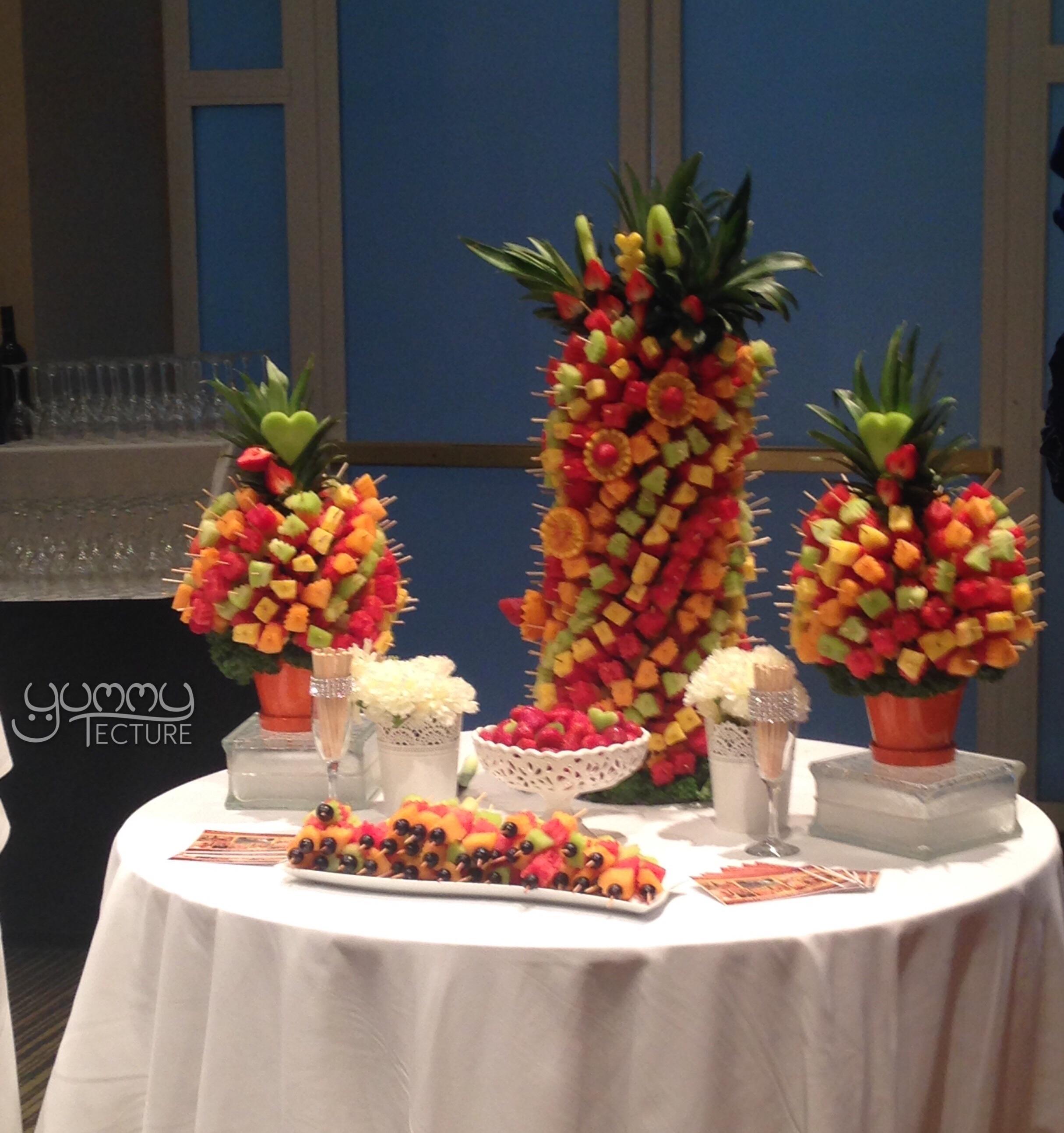 Fruit Skewer Horderves
