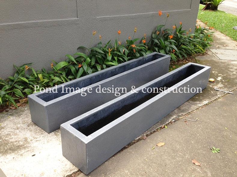 Pond image landscape decking for Cubicle planter box