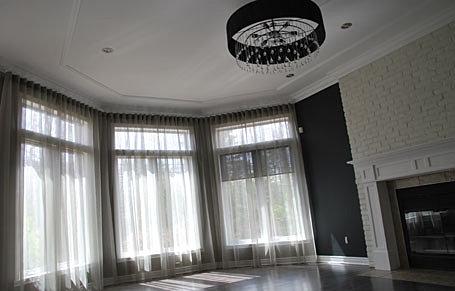 Catherine c leveille designer d interieur decoration for Decoration habillage fenetre