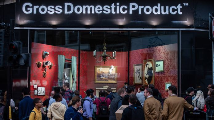 Why is Banksy vetting the customers of his online store?