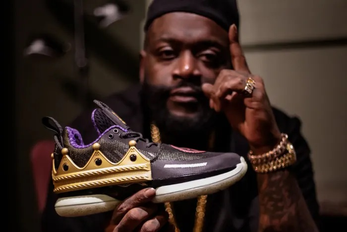 RICK ROSS AND DWYANE WADE READY LIMITED EDITION LI-NING SNEAKERS