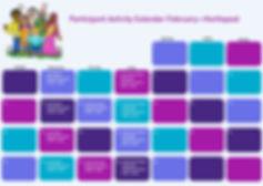 Participant Activity Calendar - Hartlepo