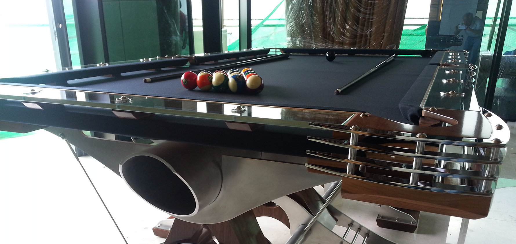 Hurricane Billiards   Cool  Unique and Modern Custom Pool Tables