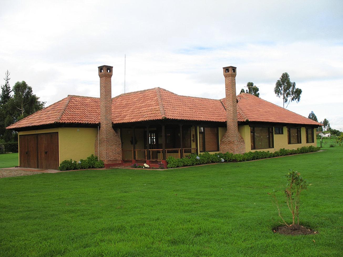 Casas campestres construccion personalizada casas for Planos para casas campestres