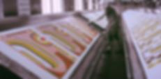 kyoto, hand print, Furoshiki