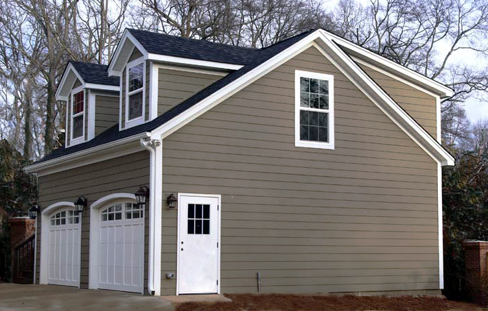 Nc garage builders custom garage building salt box for Detached garage cost calculator