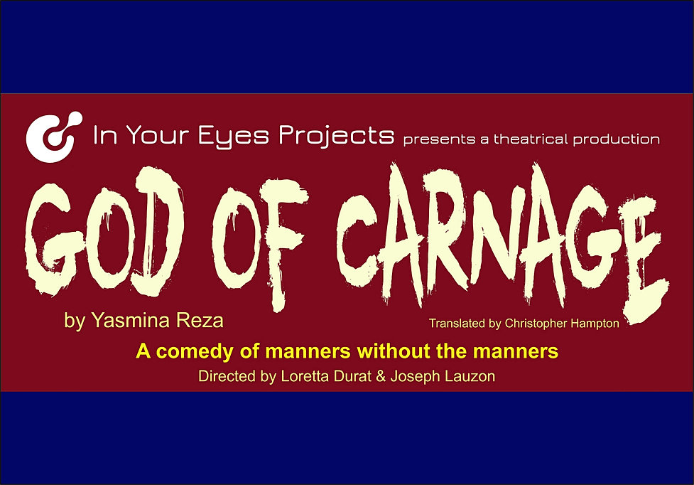 a review of yasmina rezas the god of carnage God of carnage - yasmina reza - download as pdf file (pdf), text file (txt) or view presentation slides online.