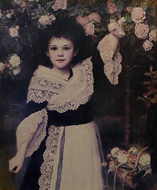 Florence Henry as a child
