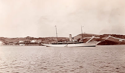 Lorenzo Mitchell-Henry's Steam Yacht 'Ida'