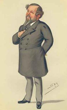 Mitchell Henry - Sir Leslie Ward Caricatures - Vanity Fair Spy Cartoons
