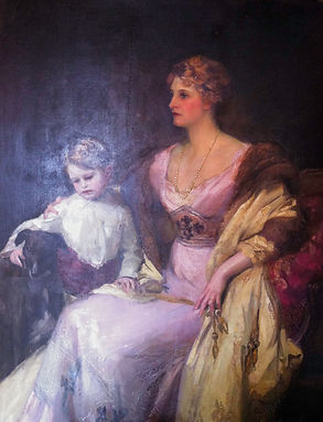 Loius Mitchell-Henry with his mother Marion Reagner