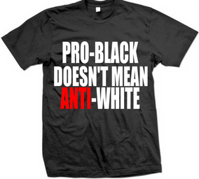 PRO-BLACK T-SHIRT | Zion's Greek Apparel Boutique