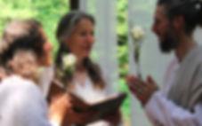 Claire Mallet, célébrante de mariages civils