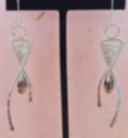 Modern Wire Drop Pendant Earrings.jpg