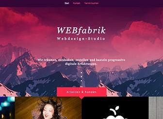 Webdesign-Studio Template - Präsentieren Sie Ihre Arbeiten mit dieser stylischen Vorlage. Mit der Portfolio-Galerie direkt auf der Startseite und nur einer zusätzliche Seite zur Kontaktaufnahme, halten Sie es einfach und stechen doch hervor. Ihre Website sollte so mutig sein, wie Ihre Arbeit. Sie brauchen nicht weiter zu suchen.