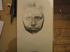 Self-Portrait Sketch