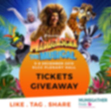 Madagascar the Musical Ticktets Giveaway