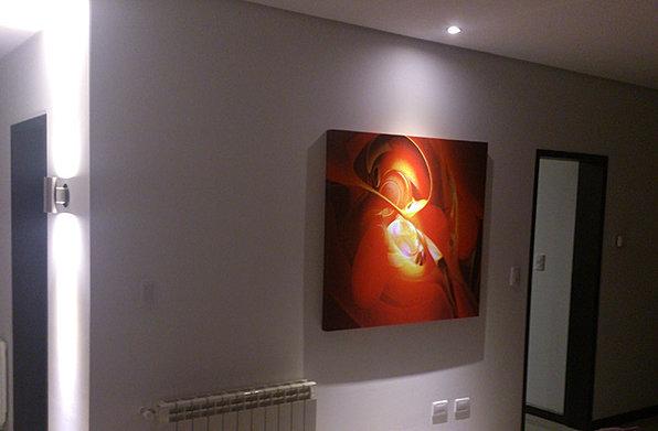 Iluminacion mendoza luces dise o de iluminacion venta de artefactos - Iluminacion para cuadros ...